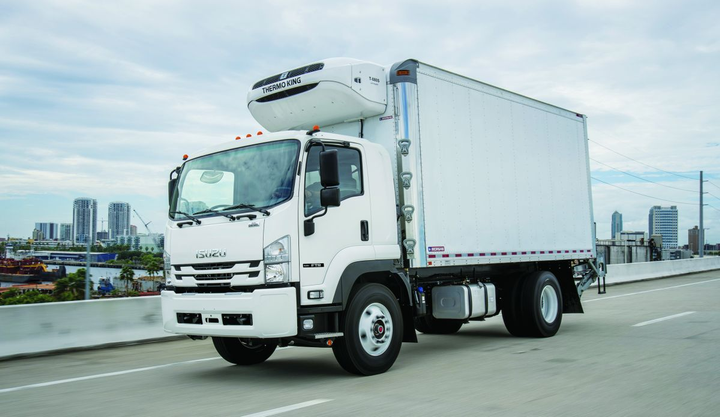 The Isuzu FTR was namedWork Truck's Medium-Duty Truck of the Year in 2018.  - Photo: ICTA