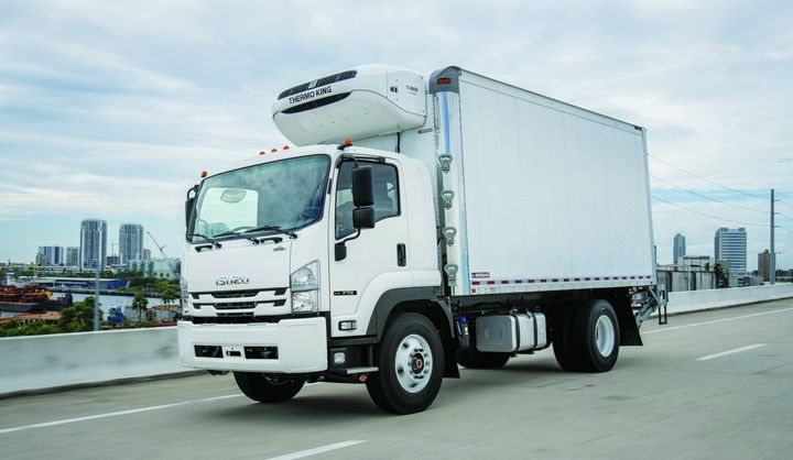 The Isuzu FTR was named Work Truck's Medium-Duty Truck of the Year in 2018.