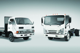 Isuzu Celebrates 35th Anniversary & New Class 5 Trucks