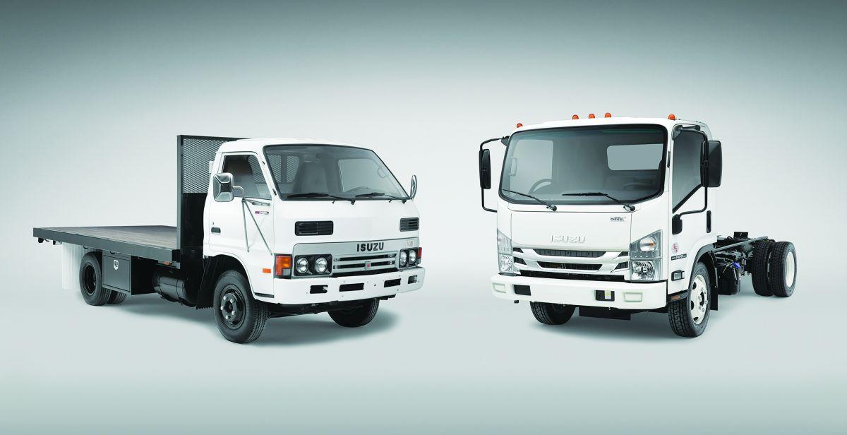 Isuzu Celebrates 35th Anniversary & New Class 5 Trucks
