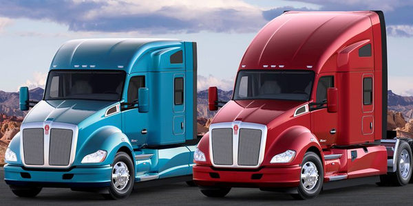 Kenworth offers its heavy-duty T680 in both mid- and high-roof options.