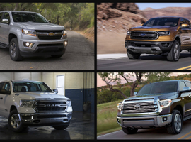 """Of the 11 trucks deemed suitable for """"work truck applications,"""" the Toyota Tacoma came in as the lightest truck at only 5,400 pounds. The Ford F-150 came in with the highest possible towing capability at 13,200 pounds. The Ford F-150 features the top possible payload at up to 3,270 pounds, when properly equipped.The Nissan Titan came in as the heaviest truck starting at 7,100 pounds."""