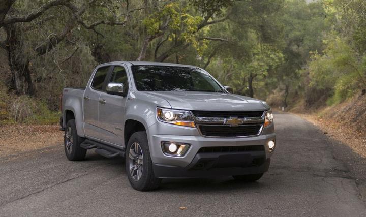 Chevrolet Colorado  - Photo courtesy of GM
