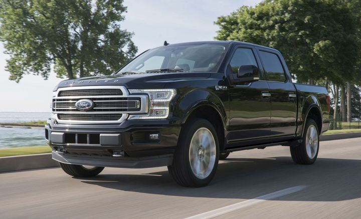 Ford F-150  - Photo courtesy of Ford