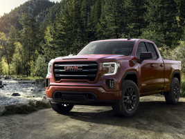 The 2019 GMC Sierra 1500 offerings include regular cab, double cab, and crew cab body styles —...