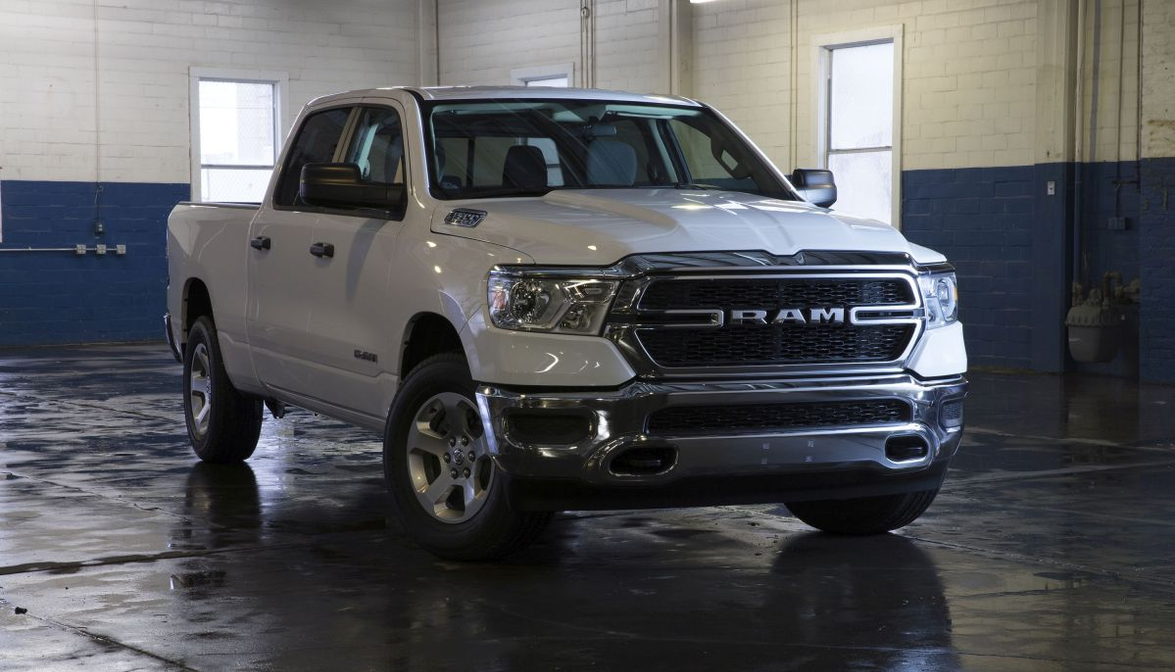 The 2019 Ram 1500 is almost 225-pounds lighter than the previous model, featuring a frame with...