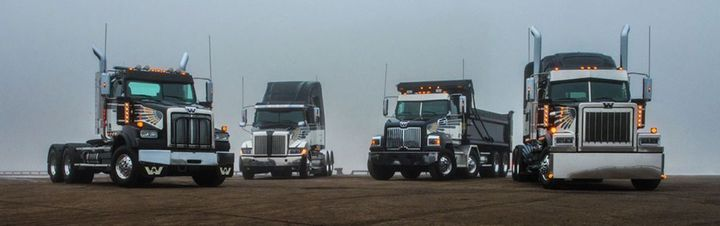 Western Star's offers a family of heavy-duty truck options. 
