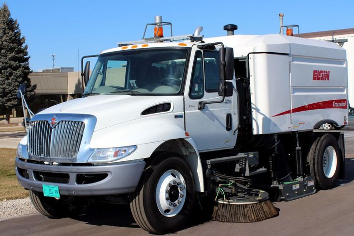 The cornerstone to spec'ing a productive and safe upfit is for the fleet manager to fully understand the application. A street sweeper is not used in the same way a delivery truck is. - Photo: Fontaine Modification