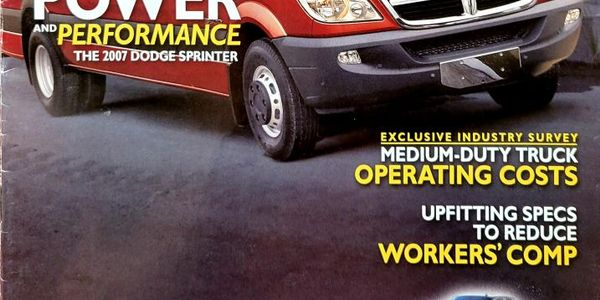 The first issue of Work Truck debuted in March of 2007 and started 15 years of educating and...