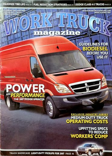 The first issue of Work Truck debuted in March of 2007 and started 15 years of educating and informing vocationalwork truck fleet readers. - Image: Work Truck