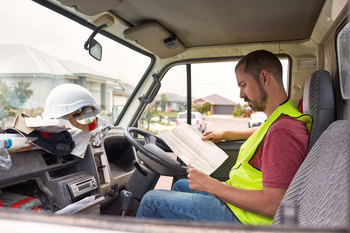 Carpal tunnel syndrome has been viewed as primarily an office worker injury, but there has been an increase in drivers filing carpal tunnel syndrome claims. - Photo via gettyimages.com/xavierarnau.