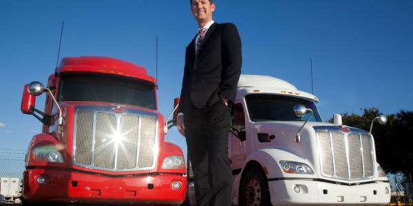 Justin Barnhart, general manager for PacLease Texas Company Stores believes PacLease trucks...