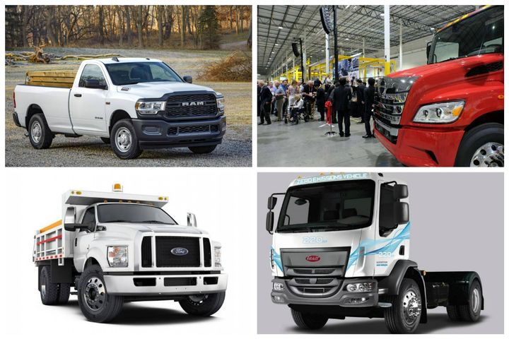 - Photos: Ram Truck, Ford, Hino, and Peterbilt