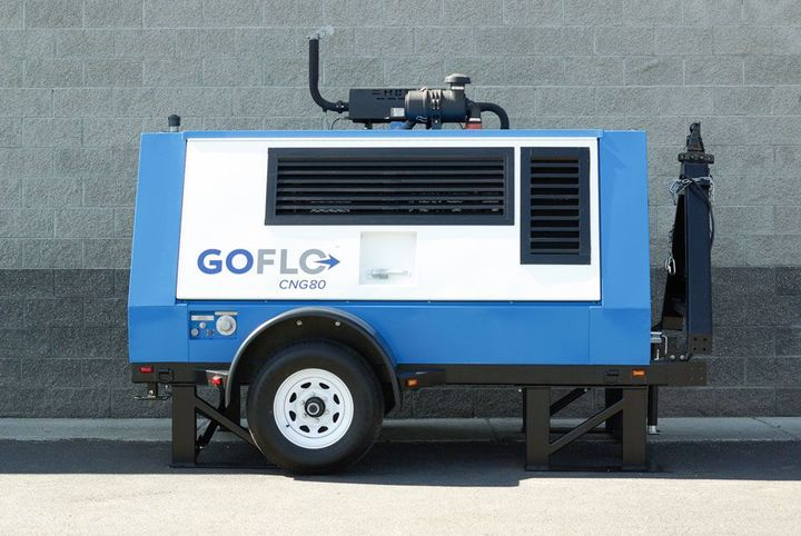 Serv-Wel installed the GoFlo as a permanent CNG station in August 2019. - Photo: Onboard Dynamics