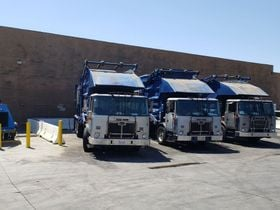 Waste Hauler Adopts On-Site CNG Fueling Tech