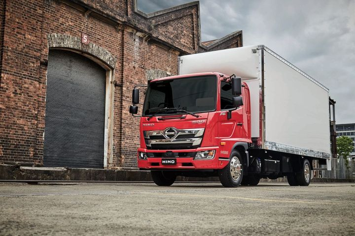 65% of all of Hino's 500 Series standard cab trucks are now ordered with Allison Automatics. - Photo: Hino Trucks