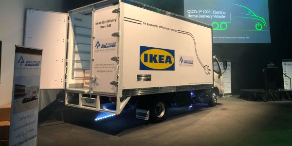 IKEA's bold vision for a 100% electric home delivery fleet by 2025 is seeing fleet delivery...