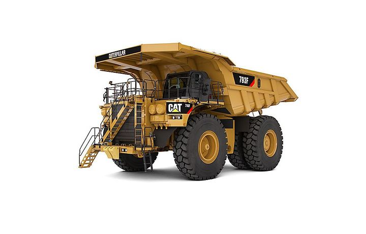 The Cat 793F is one truck used currently in the mining industry. - Photo: Caterpillar