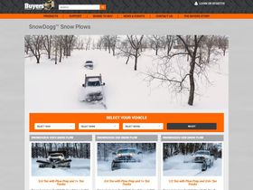 Buyers Simplifies Online Platform for SnowDogg Plows