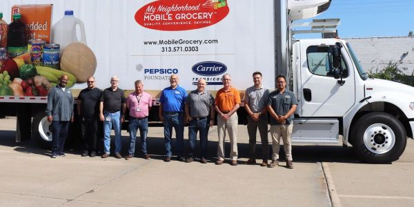 To help support the Gleaners mission, Carrier Transicold of Detroit installed the Supra 960MT...