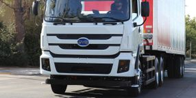 Anheuser-Busch Receives BYD's 100th Battery-Electric Truck