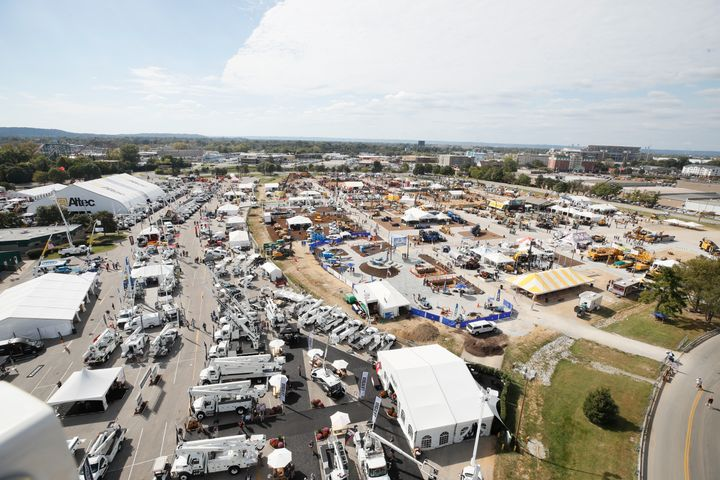 ICUEE - The Demo Expois the utility industry's largest trade show. - Photo courtesy of ICUEE