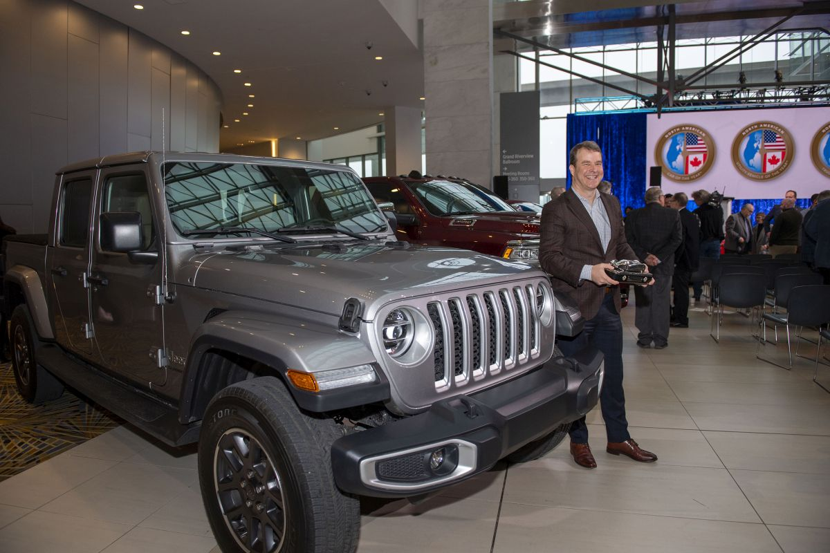 Jeep Gladiator Named North American Truck of the Year