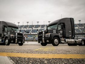 Mack Renews Partnership with NASCAR