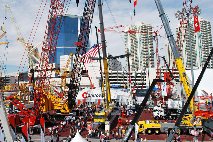 The six new models will come from the Manitowoc, Potain, Grove, and National Crane ranges, covering a wide spectrum of lifting industry needs. - Photo courtesy of Manitowoc Cranes