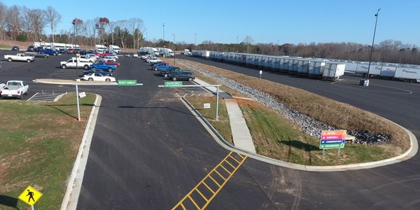 At its headquarters location, Cargo Transporters recently opened a new parking area for drivers.