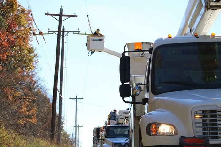 Nearly half of the new additions are bucket trucks. - Photo via Unsplash/Michael Wilson