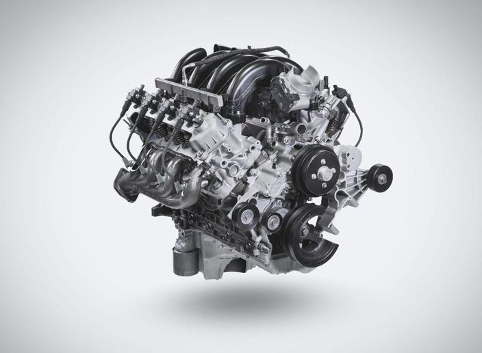 The Ford base engine will offer fleets a Near Zero Natural Gas engine for the F-450, F-550, F-650, F-750, F-53, F-59, and E-450 applications. - Photo: Landi Renzo