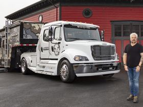 T.V. Chef Takes on Disaster Relief with Freightliner