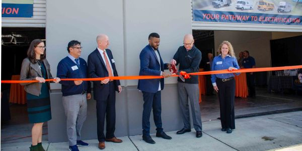 The ribbon-cutting ceremony took place on Thursday, February 13th and included Stockton Mayor...