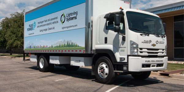 The zero-emission commercial trucks produced by the partnership will be powered by an integrated...