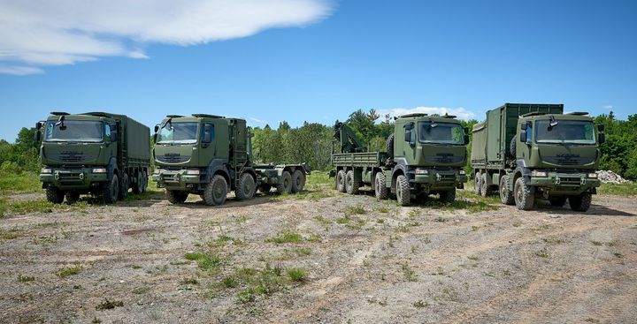 XMCO has been provided an M917A3 truck for the sole purpose of logistics data development. - Photo: Mack Defense