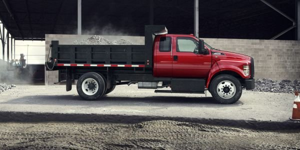 Ford's F-650/F-750 trucks and tractors are built in America at the Ohio Assembly Plant in Avon...