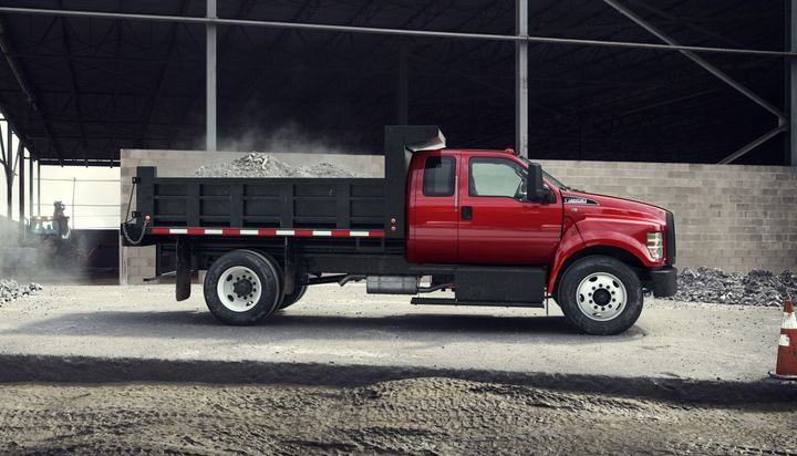 Ford's F-650/F-750 trucks and tractors are built in America at the Ohio Assembly Plant in Avon Lake. -