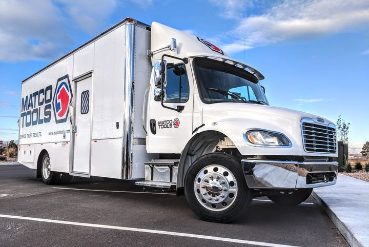 The all-day power system includes an automotive grade, NMC lithium-ion storage pack that will provide Matco trucks with 18,000 Whs of storage and 3.6 kW of 120 AC (30A). - Photo: Volta Systems