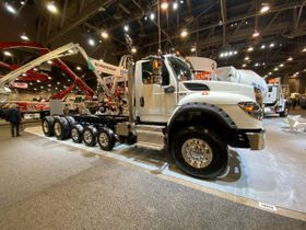 International Truck to Showcase HV Series at World of Concrete