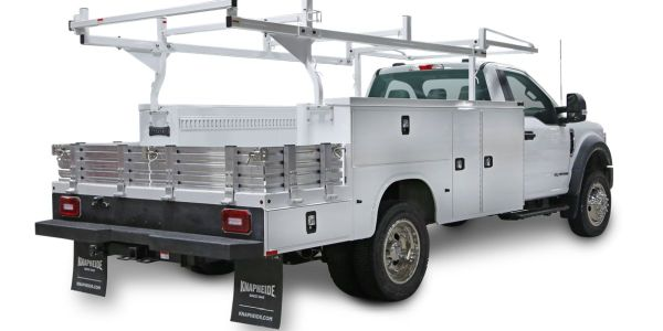 The Combo Body is a combination of Knapheide's popular service body and contractor platform body.