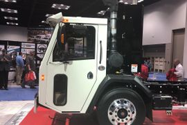 Crane Carrier Introduces Narrow Tilt Truck Chassis at Work Truck Show