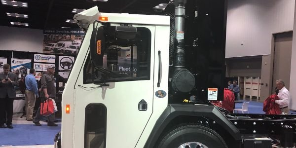 Crane Carrier Introduces Narrow Tilt Truck Chassis at Work Truck Show
