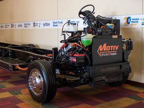 Motiv Power Systems Displays New F-59 All-Electric Chassis