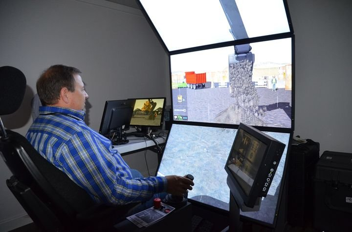 Simulations used in the program will be based on actual events rooted in construction or utility applications. - Photo courtesy of Crane Industry Services