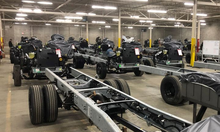 Fontaine Modification will provide customized body prep packages, suspension modifications/upgrades, and electric vehicle conversions for F-53 and F-59 chassis at its new 65,000-square-foot modification center. - Photo: Fontaine