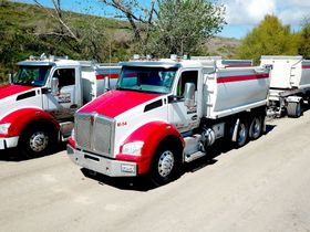 Sand and Gravel Fleet Depends on Kenworth and Paccar