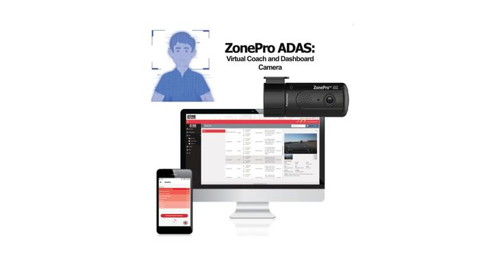 ZonePro ADAS is more than a traditional dashboard camera providing drivers with real-time voice prompts to improve driver behavior in real-time. - Photo: Zone Defense