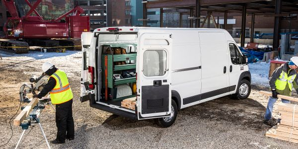 The 2021 Ram ProMaster was unveiled at The Work Truck Show.