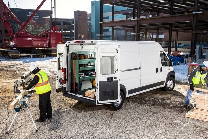 The 2021 Ram ProMaster was unveiled at The Work Truck Show. - Photo courtesy of Ram Commercial